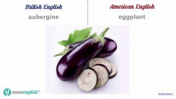 Food-Vocabulary-British-vs-American-English