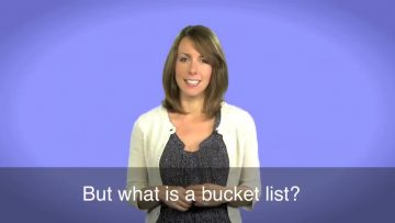 English-in-a-Minute-Bucket-List