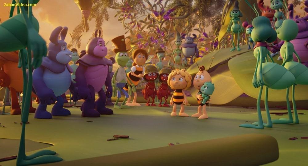 داستان انیمیشن مایا زنبورعسل 3