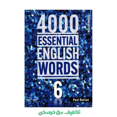 کتاب 4000Essential English Words 2nd 6+CD