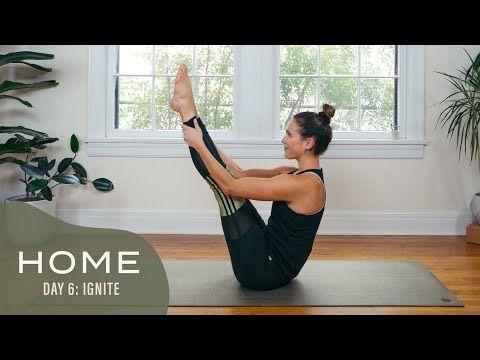 یوگا در 30 روز در خانه با آدرین - روز 6 - به هیجان آوردن