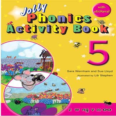شرح کتاب و توضیحات Jolly Phonics Activity Book